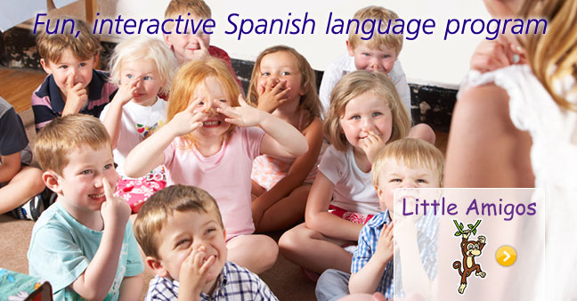 Little Amigos - Fun, interactive spanish language program
