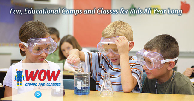 WoW Camps - explore Worlds of Wonder